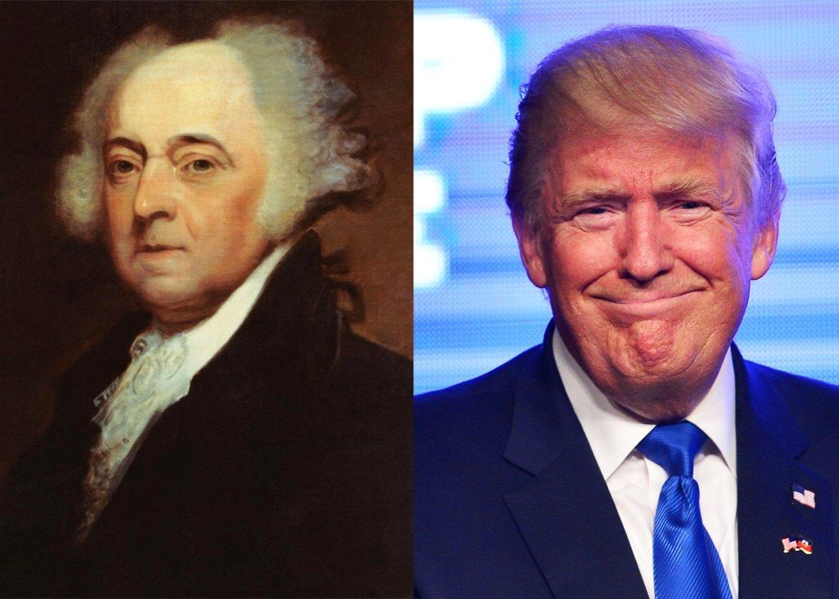 Adams and Trump