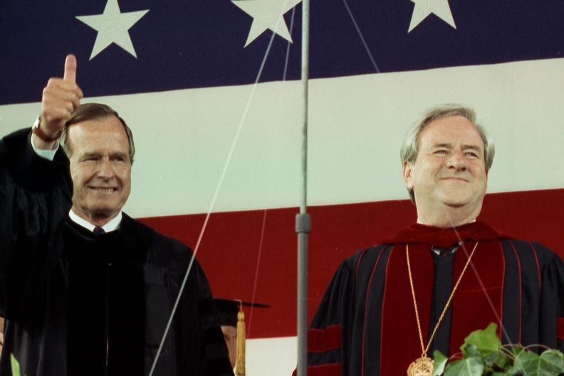 Bush and Falwell